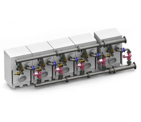 Гидравлические комплекты для каскада котлов HL