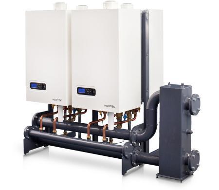 Каскад конденсационных газовых котлов HORTEK XL100