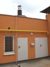 Крышная котельная общей мощностью 1,8 МВт