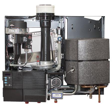 Устройство газового конденсационного котла HORTEK Q38C